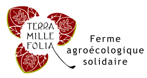 Logo Terra Millefolia ferme agroécologique solidaire biologique